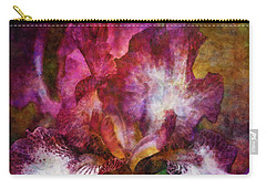 Dramatic White And Purple 0273 Idp_2 Carry-all Pouch