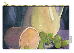 Drapes And Grapes Carry-all Pouch