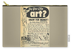 Draw For Money Carry-all Pouch
