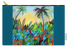 Drawn By The Color Carry-all Pouch by Elizabeth Fontaine-Barr