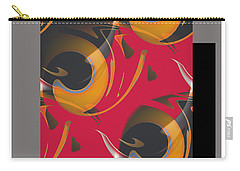 Carry-all Pouch featuring the digital art Dream #2 by Iris Gelbart