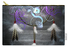 Dream Catcher Dragon Fish Carry-all Pouch