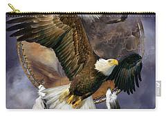 Dream Catcher - Spirit Eagle Carry-all Pouch