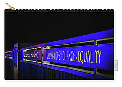 Dream-hope-change-equality Martin Lurther Kin Bridge - Fort Wayne Indiana Carry-all Pouch
