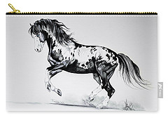 Dream Horse Series - Painted Dust Carry-all Pouch by Cheryl Poland