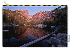 Carry-all Pouch featuring the photograph Dream Lake by Gary Lengyel