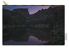 Carry-all Pouch featuring the photograph Dream Lake Reflections by Gary Lengyel