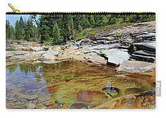 Dream Of A Stream Carry-all Pouch by Sean Sarsfield