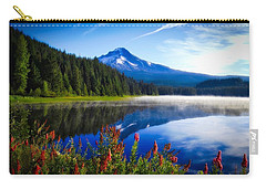 Carry-all Pouch featuring the photograph Dream Of Lake Trillium by Lynn Hopwood