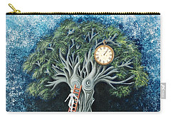 Dream Of The Clock Carry-all Pouch