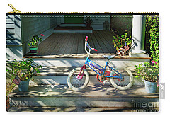Carry-all Pouch featuring the photograph Dream On Bicycle by Craig J Satterlee