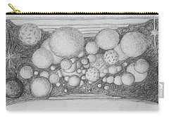 Carry-all Pouch featuring the drawing Dream Spirits by Charles Bates