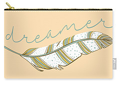Carry-all Pouch featuring the digital art Dreamer by Heather Applegate