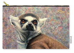 Ring-tailed Lemur Paintings Carry-All Pouches