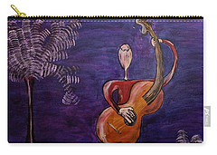 Carry-all Pouch featuring the painting Dreamers 13-001 by Mario Perron