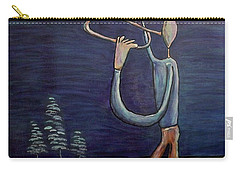 Carry-all Pouch featuring the painting Dreamers 13-002 by Mario Perron