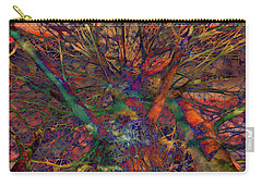 Carry-all Pouch featuring the digital art Dreamers by Robert Orinski