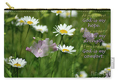 God Is Carry-all Pouch by Diane E Berry