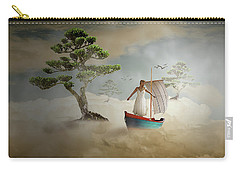 Carry-all Pouch featuring the digital art Dreaming High by Nathan Wright