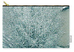 Carry-all Pouch featuring the photograph Dreaming Of A White Christmas - Winter In Switzerland by Susanne Van Hulst