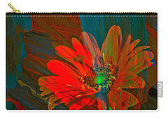 Carry-all Pouch featuring the photograph Dreaming Of Flowers by Jeff Swan