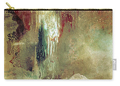 Dreams Come True - Earth Tone Art - Contemporary Pastel Color Abstract Painting Carry-all Pouch