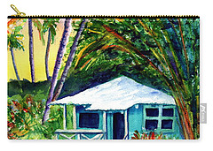 Carry-all Pouch featuring the painting Dreams Of Kauai 2 by Marionette Taboniar