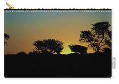 Dreams Of Namibian Sunsets Carry-all Pouch by Ernie Echols