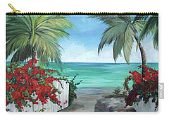Dreams Of St. John Carry-all Pouch by Kristen Abrahamson