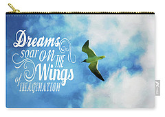 Dreams On Wings Carry-all Pouch