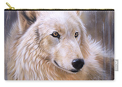Dreamscape - Wolf II Carry-all Pouch by Sandi Baker