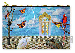 Carry-all Pouch featuring the photograph Dreamscape Three by Ken Frischkorn