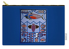 Carry-all Pouch featuring the painting Dreamtime by Stephanie Moore