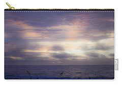 Dreamy Blue Atlantic Sunrise Carry-all Pouch