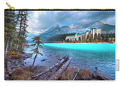 Dreamy Chateau Lake Louise Carry-all Pouch by John Poon