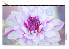 Dreamy, Delightful Dahlia Carry-all Pouch
