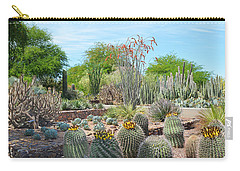 Dreamy Desert Cactus Carry-all Pouch