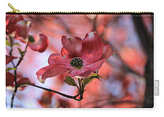 Dreamy Dogwood Carry-all Pouch by Lynn Hopwood