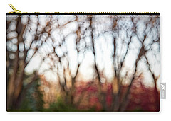Carry-all Pouch featuring the photograph Dreamy Fall Colors by Susan Stone