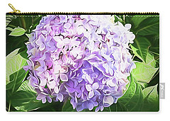 Dreamy Hydrangea Carry-all Pouch