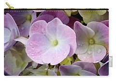 Dreamy Hydrangea Carry-all Pouch by Mimulux patricia no No