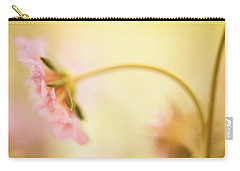 Carry-all Pouch featuring the photograph Dreamy Pink Flower by Bonnie Bruno