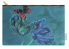 Dreamy Tulip With Gemlike Butterfly Carry-all Pouch