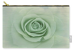 Dreamy Vintage Floating Rose Carry-all Pouch by Judy Palkimas