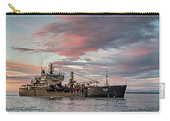 Carry-all Pouch featuring the photograph Dredging Ship by Greg Nyquist