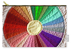Dresden Plate Circle Carry-all Pouch