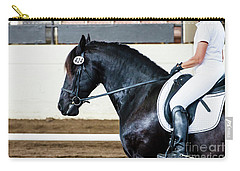 Dressage Horse Show Carry-all Pouch