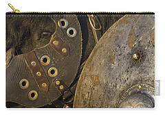 Carry-all Pouch featuring the photograph Dressed For Battle D6722 by Wes and Dotty Weber