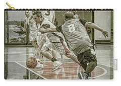 Carry-all Pouch featuring the photograph Dribble Drive by Ronald Santini