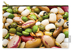 Dried Legumes And Cereals Carry-all Pouch